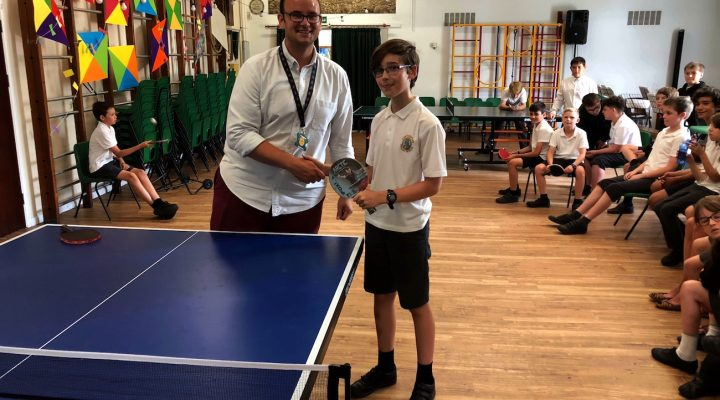 Year 6 Table Tennis Tournament