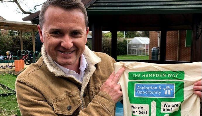 'The Hampden Way' Bag
